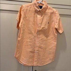 Boys Ralph Lauren Short Sleeve Button Down 7